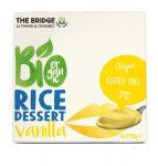 Deser Ryżowo Waniliowy Bezglutenowy Bio 4X110 g - The Bridge