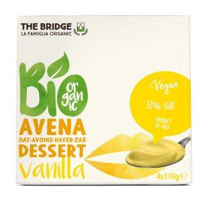 Deser Owsiano Waniliowy Bio 4X110 g - The Bridge