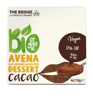 Deser Owsiano Czekoladowy Bio 4X110 g - The Bridge