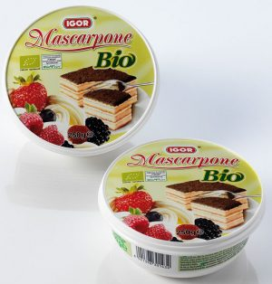 Mascarpone Bio 250 g - Igor