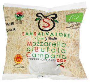 Mozzarella z Mleka Bawolego (W Foli) Bio 350 g - Biologica