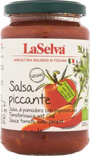 Sos Pomidorowy z Papryczkami Chili Bio 340 g