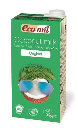 Mleczko Kokosowe Słodzone Syropem z Agawy Bio 1 l - Ecomil