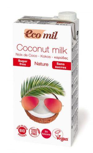 Mleczko Kokosowe Niesłodzone Bio 1 l - Ecomil