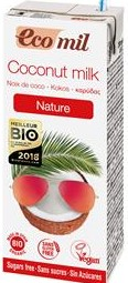 Mleczko Kokosowe Bez Cukru Bio 200 Ml - Ecomil