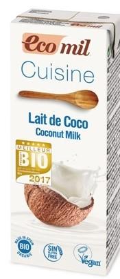 Mleczko Kokosowe Bio 200 Ml - Ecomil