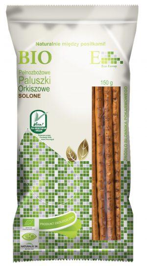 Paluszki Orkiszowe Pełnoziarniste Solone Bio 150 g - Envoy