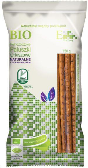 Paluszki Orkiszowe Pełnoziarniste Naturalne z Topinamburem Bio 150 g - Envoy