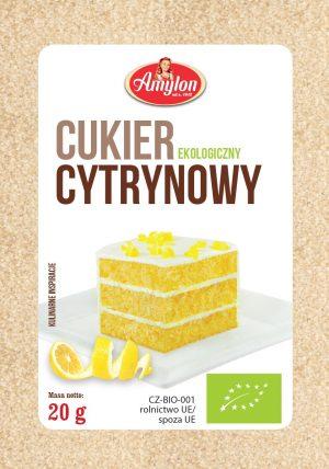 Cukier Cytrynowy Bio 20 g - Amylon