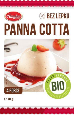 Deser Panna Cotta Bio 40 g - Amylon