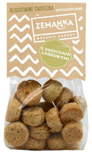 Ciasteczka Orzechowe Bezglutenowe Bio 100 g - zemanka