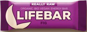 Baton z Suszonymi Figami Raw Bio 47 g - Lifefood