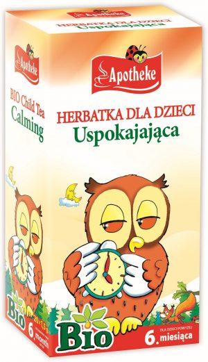 Herbatka Dla Dzieci - Uspokajająca Bio 20X1,5 g - Apotheke