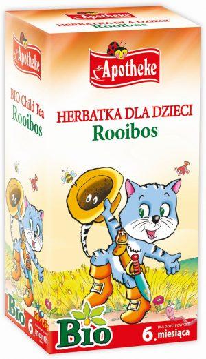 Herbatka Dla Dzieci - Rooibos Bio 20X1,5 g - Apotheke