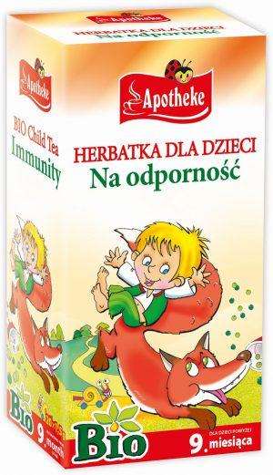Herbatka Dla Dzieci - Na Odporność Bio 20X1,5 g - Apotheke