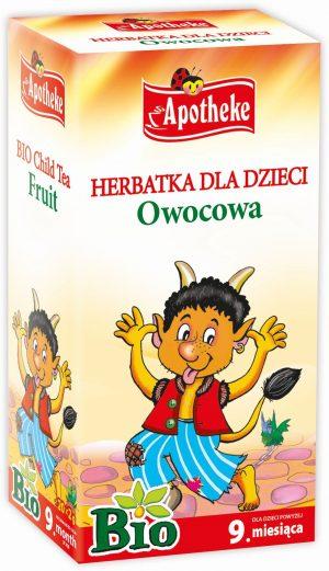 Herbatka Dla Dzieci - Owocowa Bio 20X2 g - Apotheke