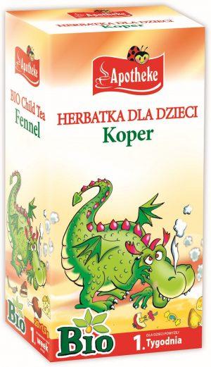 Herbatka Dla Dzieci - Koper Bio 20X1,5 g - Apotheke