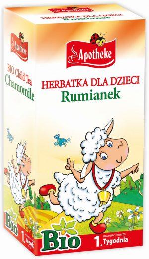 Herbatka Dla Dzieci - Rumiankowa Bio 20X1 g - Apotheke