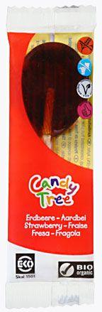 Lizaki o Smaku Truskawkowym Bio 13 g - Candy Tree