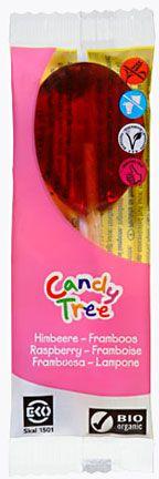 Lizaki o Smaku Malinowym Bio 13 g - Candy Tree