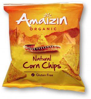 Chipsy Kukurydziane Solone Bio 75 g - Amaizin