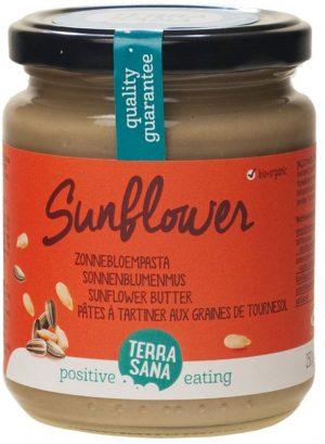 Krem z Pestek Słonecznika Bio 250 g - Terrasana