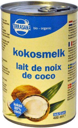 Mleczko Kokosowe (22% Tłuszczu) Bio 400 Ml - Terrasana