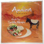 Tortilla Wraps Bio 240 g - Amaizin