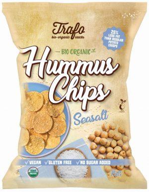 Chipsy z Ciecierzycy z Solą Morską Bio 75 g - Trafo