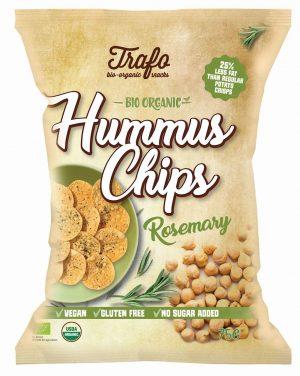 Chipsy z Ciecierzycy z Rozmarynem Bezglutenowe Bio 75 g - Trafo