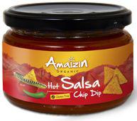 Sos Salsa Pikantny Bio 260 g - Amaizin