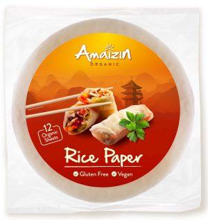 Papier Ryżowy Bezglutenowy Bio 110 g - Amaizin
