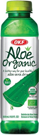Napój Aloe Organic Bio 500 Ml - Okf