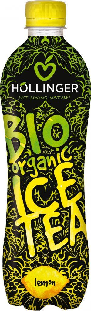 Napój Ice Tea o Smaku Cytrynowym Bio 500 Ml - Hollinger