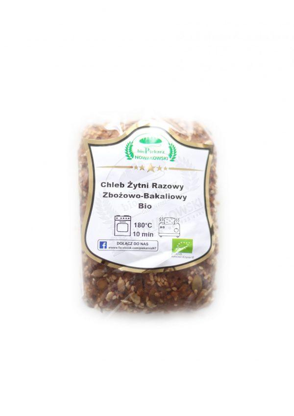 Chleb Bakaliowy Bio - Bio Piekarz Nowakowski
