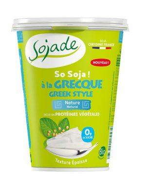 Produkt Sojowy Naturalny Typu Greckiego Bezglutenowy Bio 400 g - Sojade