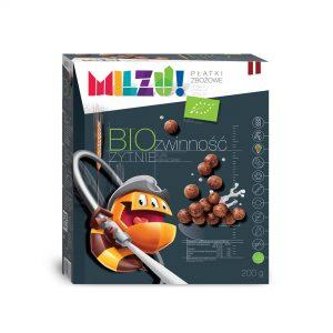 Płatki Żytnie Kakaowe Zwinność Bio 200 g