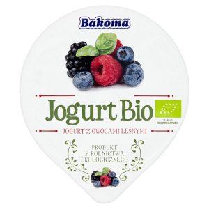 Jogurt Owoce Leśne Bio 140 g - Bakoma