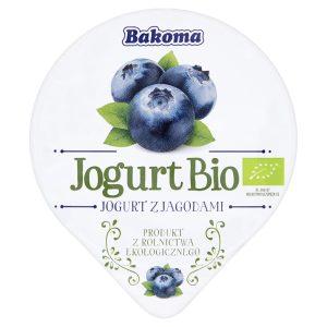 Jogurt Jagoda Bio 140 g - Bakoma