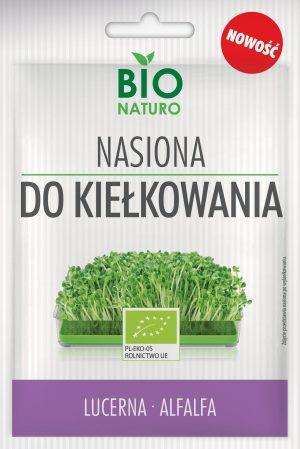 Nasiona Do Kiełkowania Lucerna Bio 25g / Bionaturo