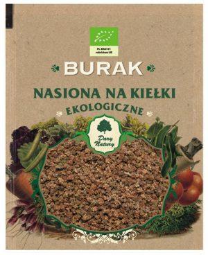 Nasiona Buraka Bio Na Kiełki 30 g - Dary Natury