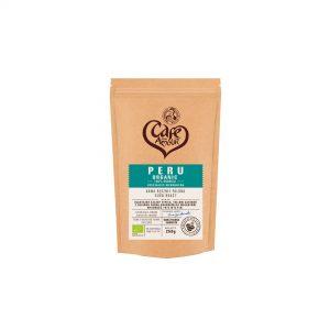 Kawa Palona Ziarnista Peru Organic Bio 250 g - Cafe Mon Amour