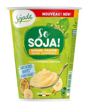 Produkt Sojowy Banan - Marakuja Bio 400 g - Sojade