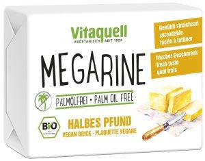 Margaryna (Bez Oleju Palmowego) Bio Kostka 250 g - Vitaquell