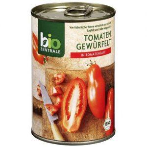 Pomidory Pokrojone w Kostkę 400g Eko