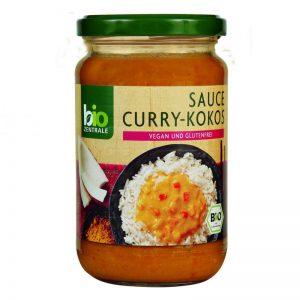 Sos Curry-Kokos B/g 340ml Eko