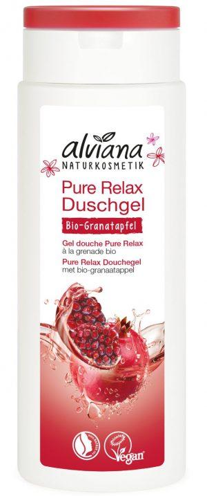 Żel Pod Prysznic Pure Relax z Bio Granatem i Bio Jojoba 250ml.