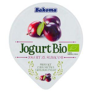 Jogurt Śliwka Bio 140 g - Bakoma