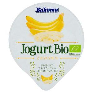 Jogurt Banan Bio 140 g - Bakoma