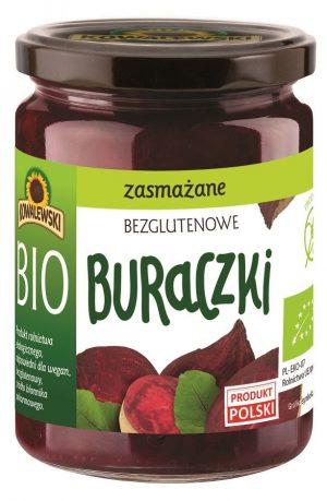 Buraczki Zasmażane Bezglutenowe Bio 480 g - Kowalewski
